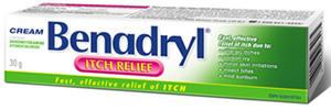 Benadryl Cream to Treat Mosquito Bites